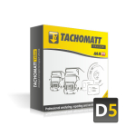 TACHOMATT Yellow D5