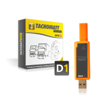 TACHOMATT Yellow D1 + TachoDrive ONE STD