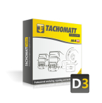 TACHOMATT Yellow D3